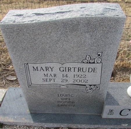 COE, MARY GIRTRUDE - Carson County, Texas | MARY GIRTRUDE COE - Texas Gravestone Photos
