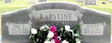 EARP RAPSTINE, EUNICE PEARL - Carson County, Texas | EUNICE PEARL EARP RAPSTINE - Texas Gravestone Photos