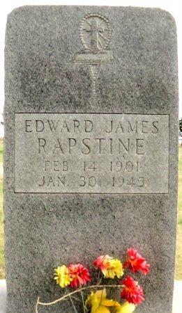 RAPSTINE, EDWARD JAMES - Carson County, Texas | EDWARD JAMES RAPSTINE - Texas Gravestone Photos