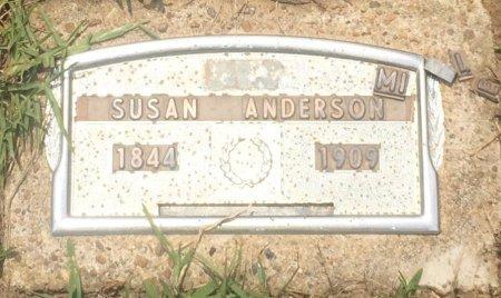 ANDERSON, SUSAN - Cass County, Texas | SUSAN ANDERSON - Texas Gravestone Photos