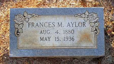 AYLOR, FRANCES M. - Cass County, Texas | FRANCES M. AYLOR - Texas Gravestone Photos