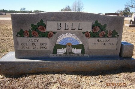 BELL, ANDY - Cass County, Texas | ANDY BELL - Texas Gravestone Photos