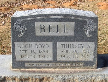 BELL, THURSEY A. - Cass County, Texas | THURSEY A. BELL - Texas Gravestone Photos
