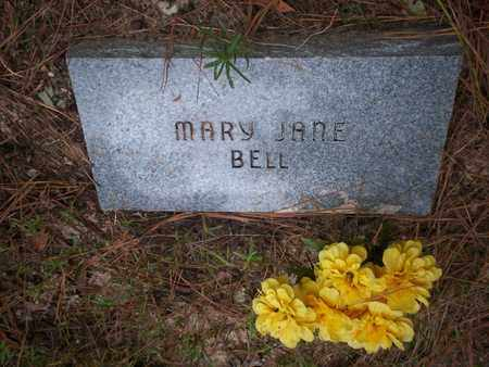 BELL, MARY JANE - Cass County, Texas | MARY JANE BELL - Texas Gravestone Photos