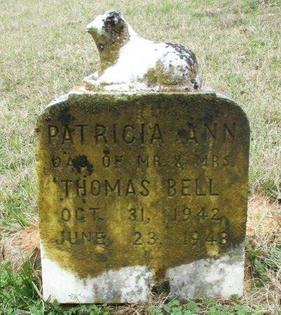 BELL, PATRICIA ANN  - Cass County, Texas | PATRICIA ANN  BELL - Texas Gravestone Photos