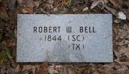 BELL, ROBERT W - Cass County, Texas | ROBERT W BELL - Texas Gravestone Photos