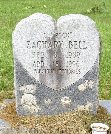 BELL, ZACHARY  - Cass County, Texas | ZACHARY  BELL - Texas Gravestone Photos