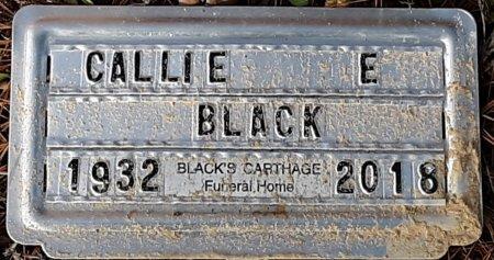 BLACK, CALLIE E (FHM) - Cass County, Texas   CALLIE E (FHM) BLACK - Texas Gravestone Photos