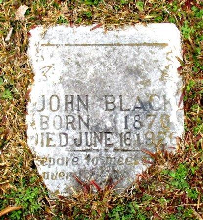 BLACK, JOHN  - Cass County, Texas   JOHN  BLACK - Texas Gravestone Photos