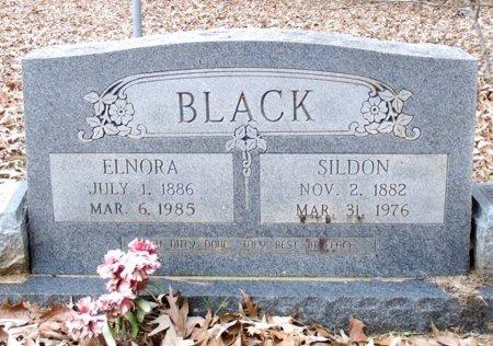 BLACK, SILDON  - Cass County, Texas | SILDON  BLACK - Texas Gravestone Photos