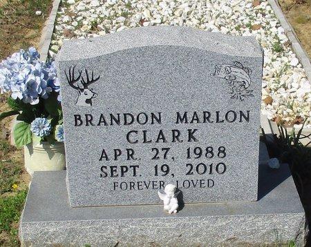 CLARK, BRANDON MARLON - Cass County, Texas | BRANDON MARLON CLARK - Texas Gravestone Photos