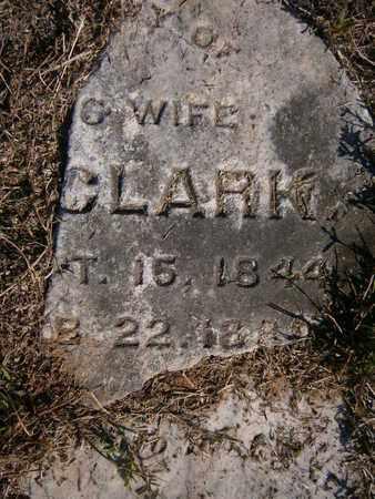 FELKER CLARK, ELIZA ANN - Cass County, Texas | ELIZA ANN FELKER CLARK - Texas Gravestone Photos