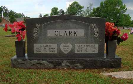 CLARK, ORA B (2ND) - Cass County, Texas | ORA B (2ND) CLARK - Texas Gravestone Photos