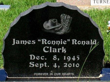 CLARK, JAMES  RONALD - Cass County, Texas | JAMES  RONALD CLARK - Texas Gravestone Photos