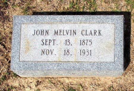 CLARK, JOHN MELVIN  - Cass County, Texas | JOHN MELVIN  CLARK - Texas Gravestone Photos