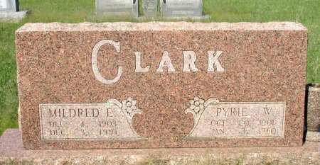 CLARK, MILDRED E. - Cass County, Texas   MILDRED E. CLARK - Texas Gravestone Photos