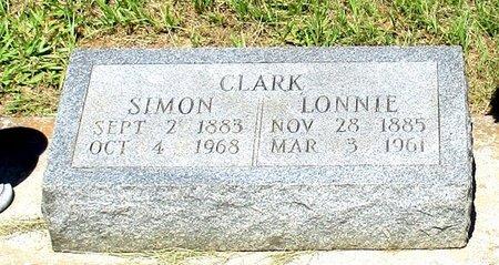 CLARK, LONNIE - Cass County, Texas | LONNIE CLARK - Texas Gravestone Photos