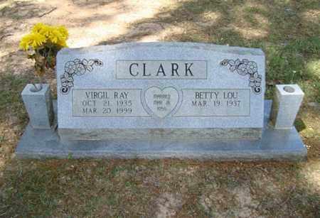 CLARK, VIRGIL RAY - Cass County, Texas | VIRGIL RAY CLARK - Texas Gravestone Photos