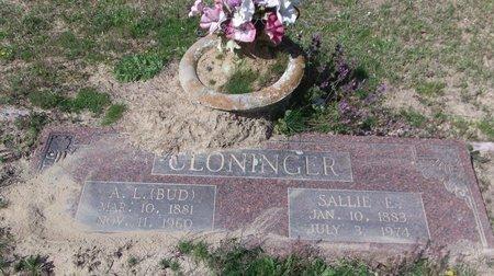 "CLONINGER, A L ""BUD"" - Cass County, Texas | A L ""BUD"" CLONINGER - Texas Gravestone Photos"