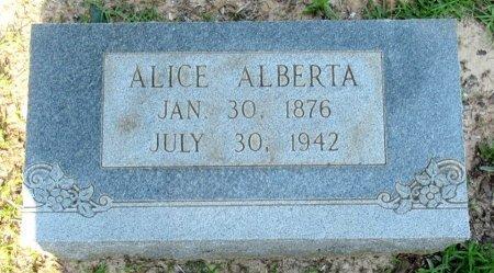 CLONINGER, ALICE ALBERTA - Cass County, Texas | ALICE ALBERTA CLONINGER - Texas Gravestone Photos