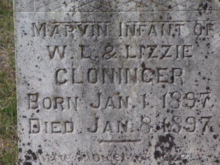 CLONINGER, MARVIN - Cass County, Texas | MARVIN CLONINGER - Texas Gravestone Photos