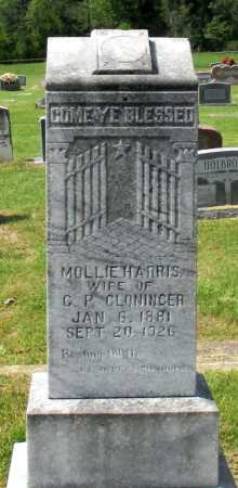 CLONINGER, MOLLIE - Cass County, Texas | MOLLIE CLONINGER - Texas Gravestone Photos