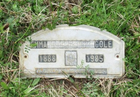 COLE, EMMA - Cass County, Texas | EMMA COLE - Texas Gravestone Photos