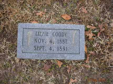 COODY, LIZZIE - Cass County, Texas   LIZZIE COODY - Texas Gravestone Photos