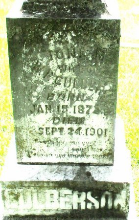 CULBERSON, IONA M. (CLOSE UP) - Cass County, Texas | IONA M. (CLOSE UP) CULBERSON - Texas Gravestone Photos