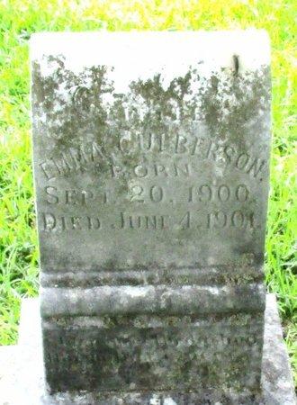 CULBERSON, EMMA - Cass County, Texas | EMMA CULBERSON - Texas Gravestone Photos