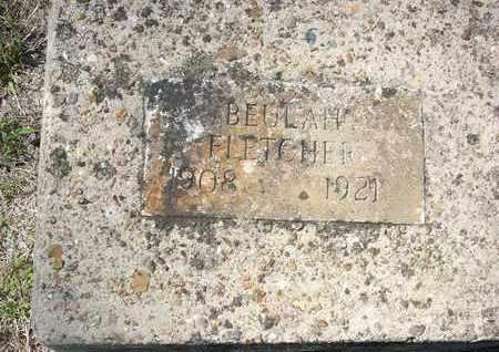 FLETCHER, BEULAH - Cass County, Texas   BEULAH FLETCHER - Texas Gravestone Photos