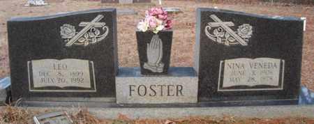 FOSTER, LEO - Cass County, Texas | LEO FOSTER - Texas Gravestone Photos