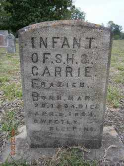 FRAZIER, INFANT - Cass County, Texas | INFANT FRAZIER - Texas Gravestone Photos