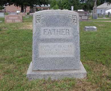 FRAZIER, JOHN B - Cass County, Texas | JOHN B FRAZIER - Texas Gravestone Photos