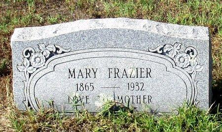 FRAZIER, MARY L. - Cass County, Texas | MARY L. FRAZIER - Texas Gravestone Photos