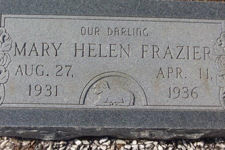 FRAZIER, MARY HELEN - Cass County, Texas | MARY HELEN FRAZIER - Texas Gravestone Photos