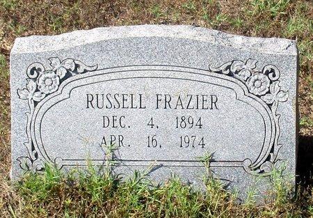 FRAZIER, RUSSELL B. - Cass County, Texas | RUSSELL B. FRAZIER - Texas Gravestone Photos