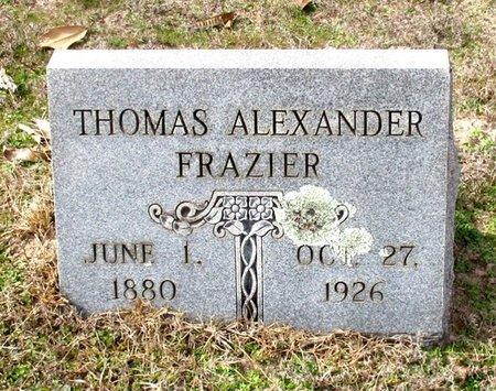 FRAZIER, THOMAS ALEXANDER - Cass County, Texas | THOMAS ALEXANDER FRAZIER - Texas Gravestone Photos