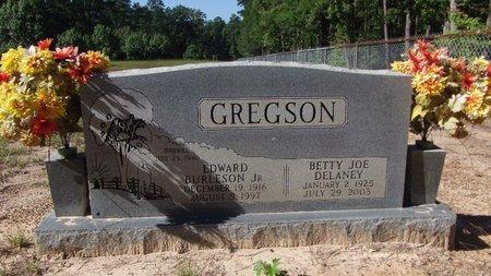 DELANEY GREGSON, BETTY JO - Cass County, Texas | BETTY JO DELANEY GREGSON - Texas Gravestone Photos