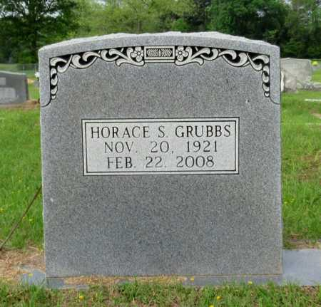 GRUBBS, HORACE S - Cass County, Texas   HORACE S GRUBBS - Texas Gravestone Photos