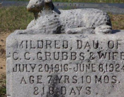 GRUBBS, MILDRED - Cass County, Texas | MILDRED GRUBBS - Texas Gravestone Photos