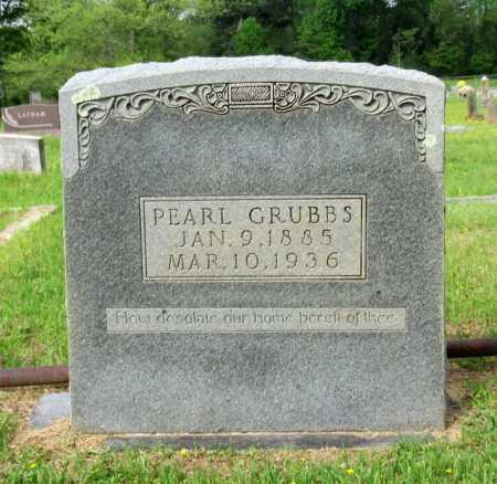 GRUBBS, PEARL - Cass County, Texas | PEARL GRUBBS - Texas Gravestone Photos