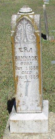 HAMMACK, ERA - Cass County, Texas | ERA HAMMACK - Texas Gravestone Photos