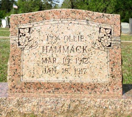 HAMMACK, IVY OLLIE - Cass County, Texas   IVY OLLIE HAMMACK - Texas Gravestone Photos