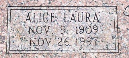 HUNT HAYDEN, ALICE LAURA (CLOSE UP) - Cass County, Texas | ALICE LAURA (CLOSE UP) HUNT HAYDEN - Texas Gravestone Photos