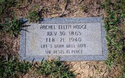 HODGE, RACHEL ELLEN - Cass County, Texas | RACHEL ELLEN HODGE - Texas Gravestone Photos