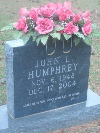 HUMPHREY, JOHN L - Cass County, Texas   JOHN L HUMPHREY - Texas Gravestone Photos