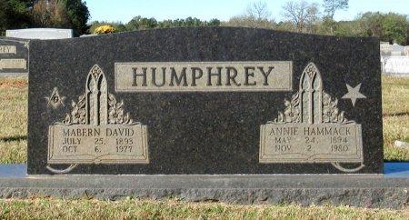 HUMPHREY, ANNIE - Cass County, Texas | ANNIE HUMPHREY - Texas Gravestone Photos