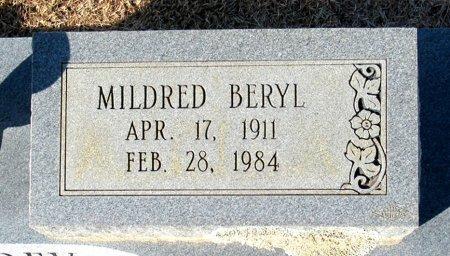 HUMPHREY, MILDRED BERYL (CLOSE UP) - Cass County, Texas   MILDRED BERYL (CLOSE UP) HUMPHREY - Texas Gravestone Photos