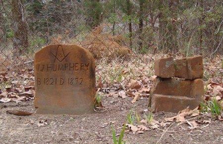 HUMPHREY, W. J. - Cass County, Texas | W. J. HUMPHREY - Texas Gravestone Photos